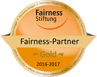 Fairness-Medaille in Gold
